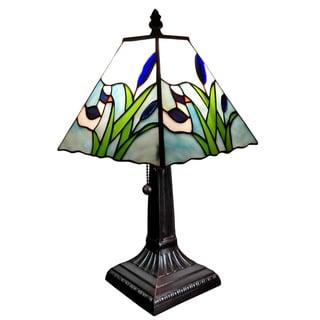 Amora Lighting Tiffany Style Mission Design Little Duck Table Lamp