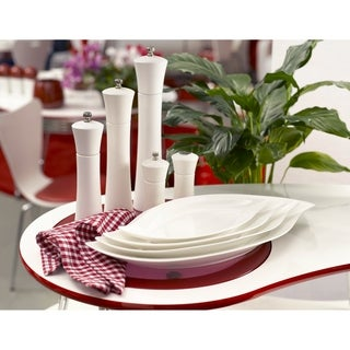 Link to Red Vanilla Wave Plates (Set of 2) Similar Items in Cooking Essentials