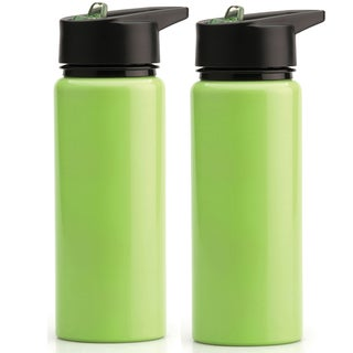 BergHoff 750ml Green Sports Bottle (Set of 2)