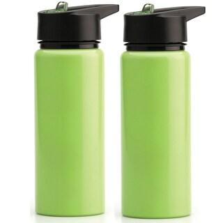 BergHoff 750ml Green Sports Bottle (Set of 2)