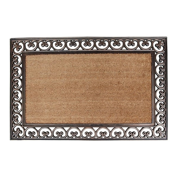 Shop First Impression Hand Finished Rubber And Coir