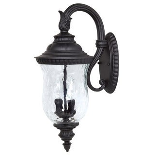 Capital Lighting Ashford Collection 2-light Black Outdoor Wall Lantern