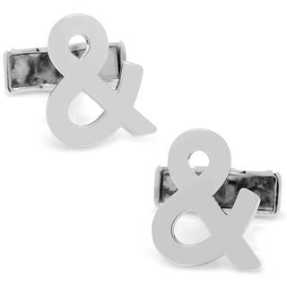 Cufflinks Inc. Sterling Silver Ampersand Cufflinks