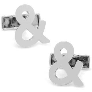 Cufflinks Inc. Sterling Silver Ampersand Cufflinks