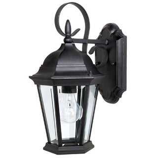 Capital Lighting Carraige House Collection 1-light Black Outdoor Wall Lantern