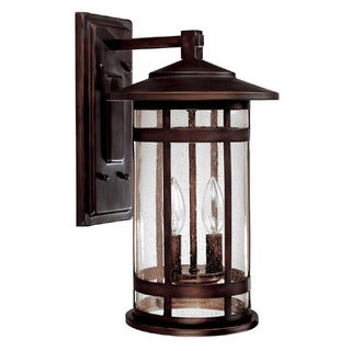 Capital Lighting Mission Hills Collection 2-light Burnished Bronze Outdoor Wall Lantern