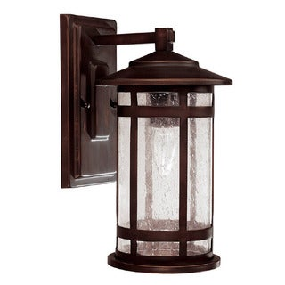 Capital Lighting Mission Hills Collection 1-light Burnished Bronze Outdoor Wall Lantern