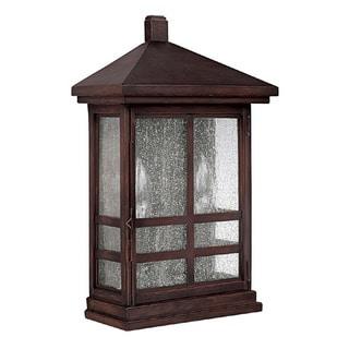 Capital Lighting Preston Collection 2-light Mediterranean Bronze Outdoor Wall Lantern