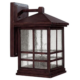 Capital Lighting Preston Collection 4-light Mediterranean Bronze Outdoor Wall Lantern