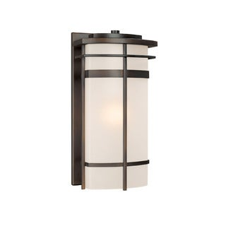 Capital Lighting Lakeshore Collection 1-light Old Bronze Outdoor Wall Lantern