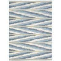Barclay Butera Malika Frost Area Rug by Nourison - 7'9 x 10'10