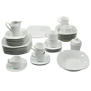 10 Strawberry Street Square Dinnerware 45-piece Set