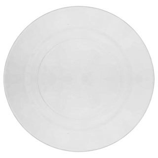 10 Strawberry Street Hammered Glass 10.7-inch Dinner Plate (Set of 6)