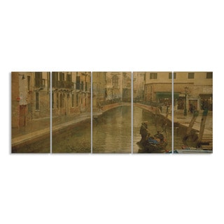 Stupell Home River in Venice 5-piece Wall Art Set