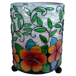 Link to Hurricane Lantern Hibiscus Flower Candleholder  (Indonesia) Similar Items in Decorative Accessories
