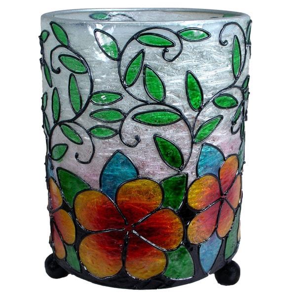 Shop Hurricane Lantern Hibiscus Flower Candleholder Indonesia