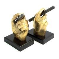 Cigar in Hand Bookends