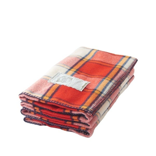 Woolrich Fawn Grove Soft Cherry Red Throw