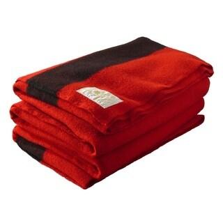 Woolrich Hudson's Bay Scarlet Full Size Blanket