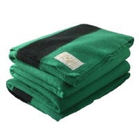 Woolrich Hudson's Bay 6-point Green Queen Blanket