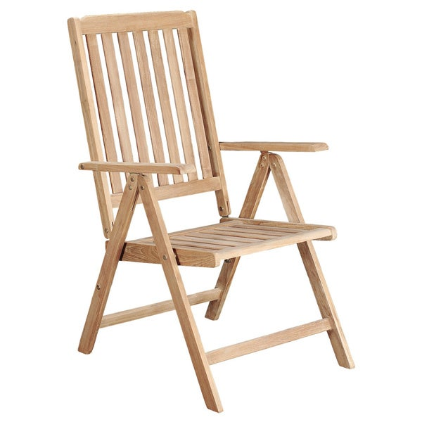 Riviera Teak Reclining Patio Chair