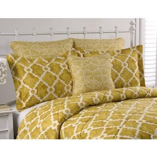 Athena Goldenrod 4-piece Comforter Set