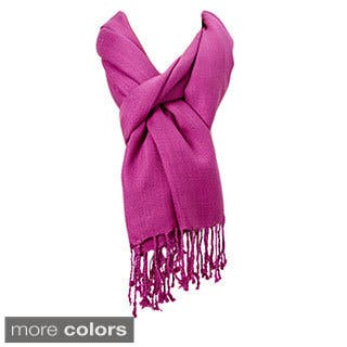 Premium Solid Color Scarf with Tassels (Option: Grey)|https://ak1.ostkcdn.com/images/products/10325798/P17436276.jpg?impolicy=medium