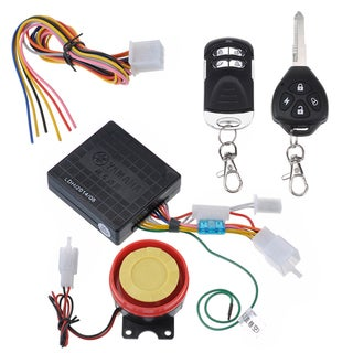 Motorcycle Anti-theft Alarm with Remote Engine Start