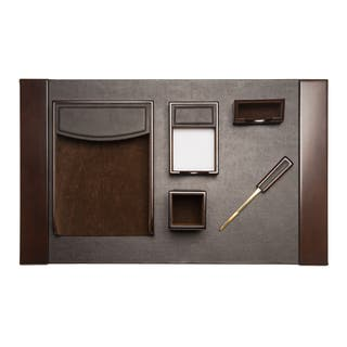 Brown Leather 6-piece Desk Set|https://ak1.ostkcdn.com/images/products/10325818/P17436294.jpg?impolicy=medium