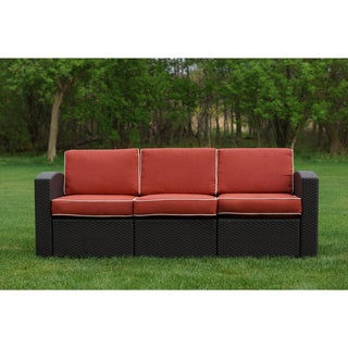 Cielo Patio Resin Wicker Sofa