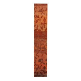 Herat Oriental Indo Hand-knotted Tibetan Wool Rug (2'2 x 12')