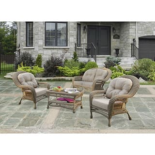 4-piece W Unlimited SW1308-SET4 Saturn Collection Set With Cushions