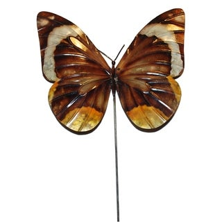Garden Stake Butterfly Brown (Philippines)