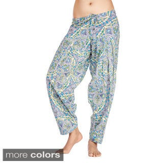 In-Sattva Women's Indian Mosaic Print Patiala Pants (India)