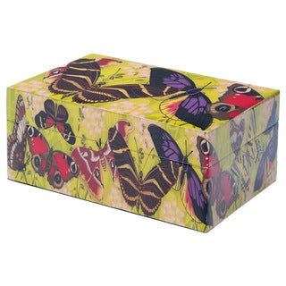 Screen Printed Rectangular Keepsakes Box (India)