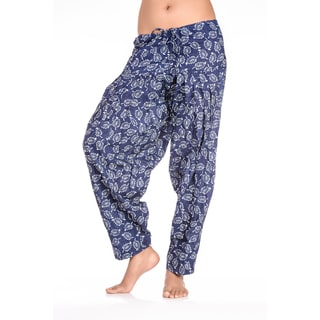 In-Sattva Women's Indian Dancing Flowers Print Patiala Pants (India)