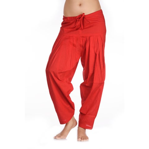 Handmade In-Sattva Women's Indian Rich Colored Patiala Pants (India)