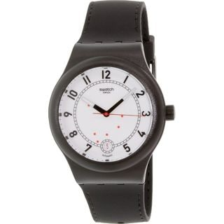 Swatch Men's SUTB402 'Original' Black Silicone Watch