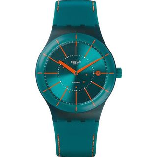 Swatch Men's SUTG400 'Original' Blue Silicone Watch