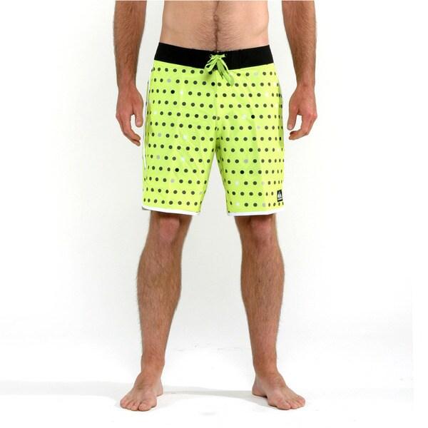 dc081f352c Shop Quicksilver Men's Green Spot on Core Boardshorts - Free ...