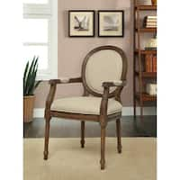 Treasure Trove Accents Freeman Mid Brown Accent Chair