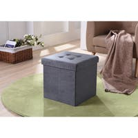 Porch & Den Old Fourth Ward Glen Iris Foldable Storage Ottoman