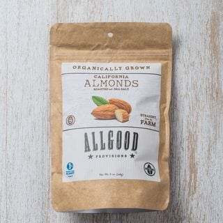 Allgood Provisions Organic Almond, Pistachio and Cashew Combo (Set of 3)