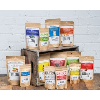 Allgood Provisions Organic Family Snack Pack (Set of 7)