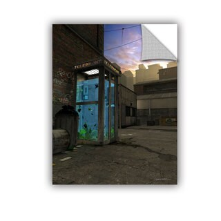 ArtWall Cynthia Decker ' Phone Booth ' Art Appealz Removable Wall Art