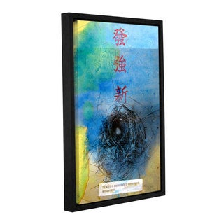 ArtWall Elena Ray ' Good Fortune ' Gallery-Wrapped Floater-Framed Canvas