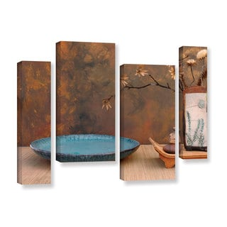 ArtWall Elena Ray ' Zen Still Life 4 Piece ' Gallery-Wrapped Canvas Staggered Set
