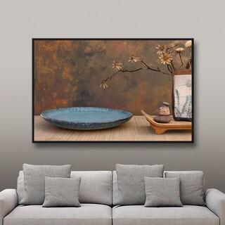 ArtWall Elena Ray ' Zen Still Life ' Gallery-Wrapped Floater-Framed Canvas