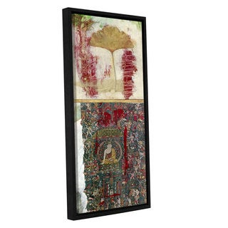 ArtWall Elena Ray ' Buddha -2 ' Gallery-Wrapped Floater-Framed Canvas