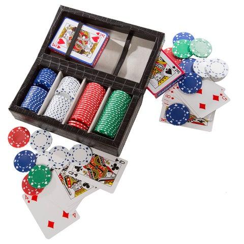 Croc Style Poker Set